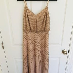 Sophia Dress BHLDN by Anthropologie in Rose Gold